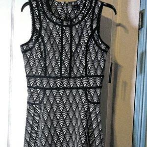Unique black and white dress! NWT!